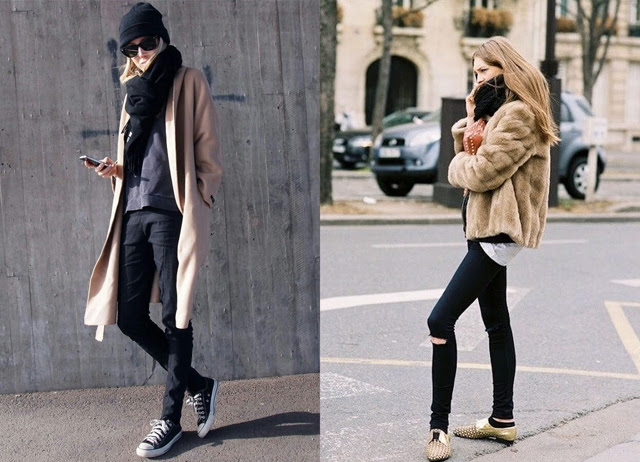 Pinterest fall winter fashion inspiration black blue leather loafers slip on check plaid tartan zara new balance sneakers faux fur fluffy coat oversized turtleneck hope outfits blogger turn it inside out belgium