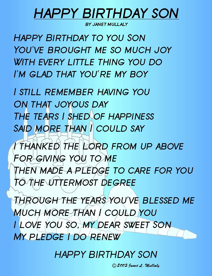 Quotes About Special Son 38 Quotes