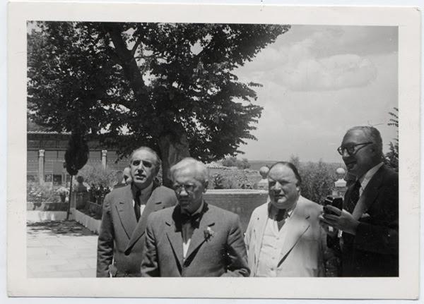 Alexander Fleming en Toledo el 13 de junio de 1948
