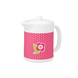 Sweet Spring Collection Pitcher zazzle_teapot