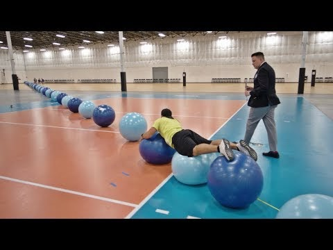 World Record Exercise Ball Surfing | Overtime 6 | Dude Perfect