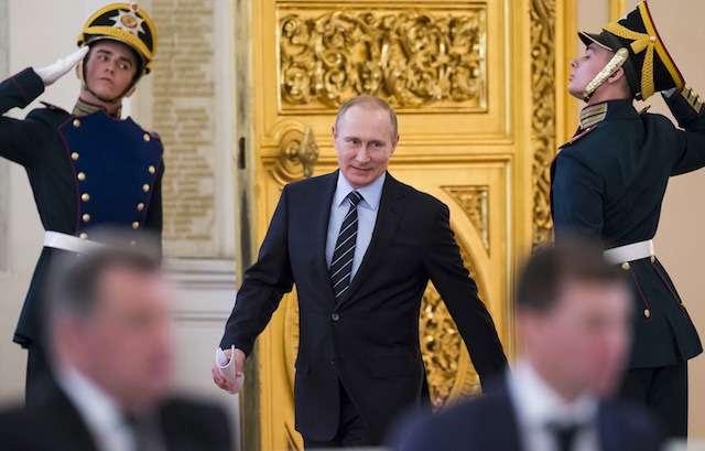 Владимир Путин создаёт новую систему управления Россией и Миром