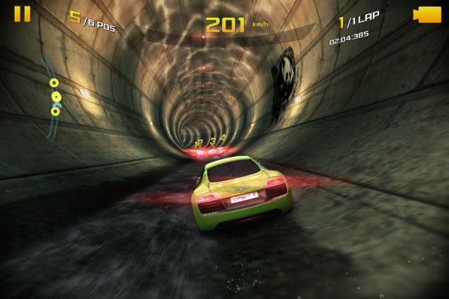 Asphalt 8: Airborne gameplay