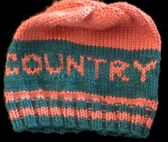 left  side x-country hat