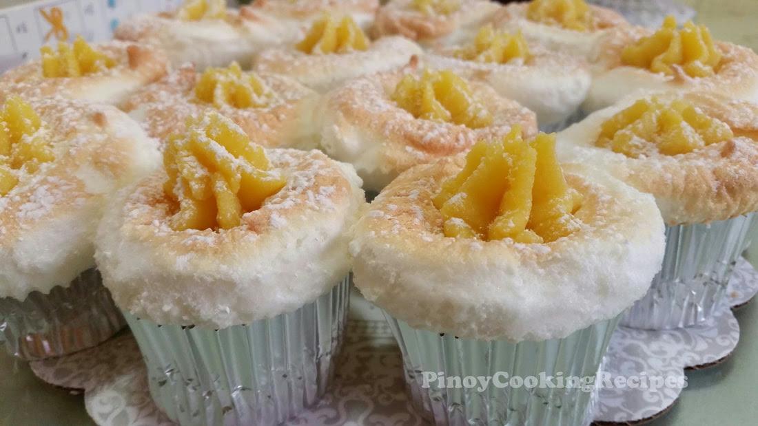 Brazo de Mercedes Cupcakes - PinoyCookingRecipes