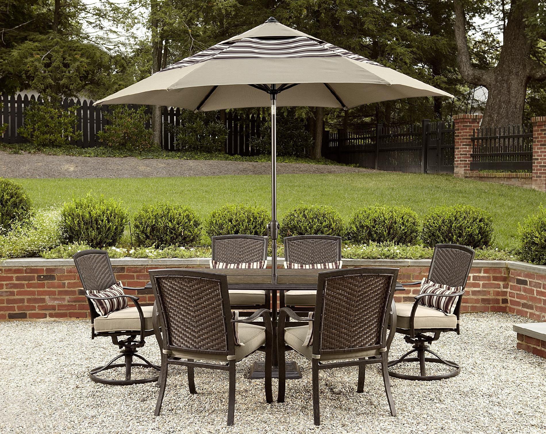 La-Z-Boy Outdoor McKenna 7pc Dining Set* - Outdoor Living ...