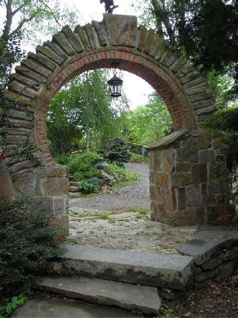 stone archway garden moon gates stone archway stone