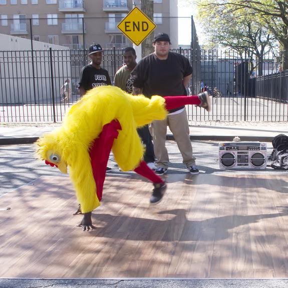 Dancing Chicken, Brooklyn