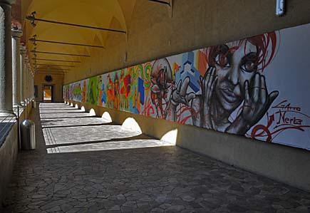 Street Art al Museo della scienza e della tecnologia di Milano