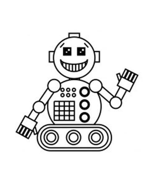 malvorlagen zum ausdrucken roboter  kostenlose
