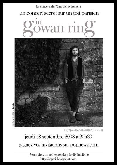 In Gowan Ring / Birch Book