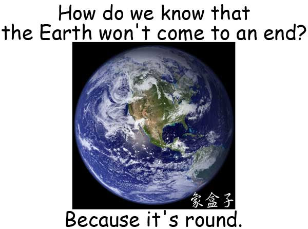 earth round