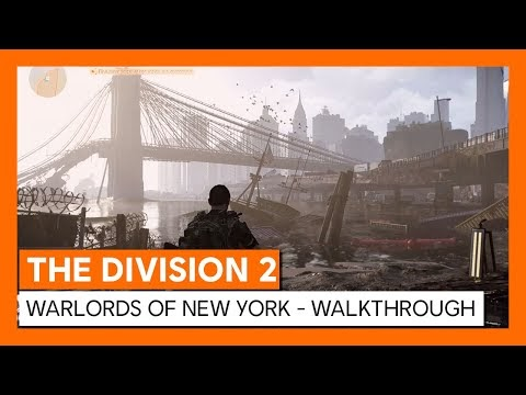 The Division 2's Warlords of New York paid expansion liberating Manhattan in March