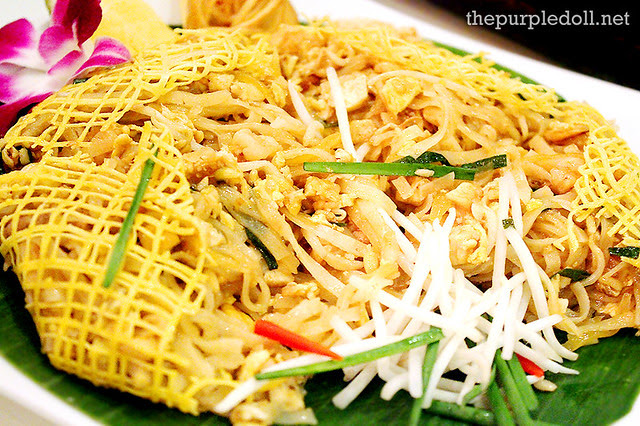 Pad Thai at Silk Road