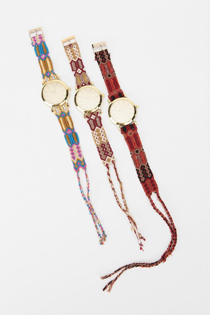 friendship bracelet watches