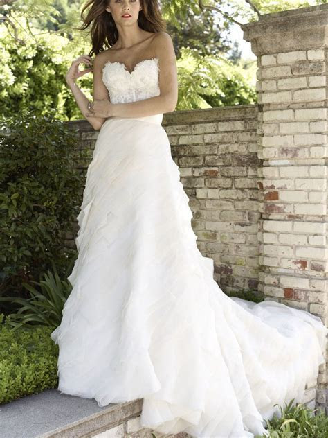 lace corset crystal beaded wedding dress lace up back   My