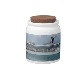 Cruise Vacation Bank Candy Jars
