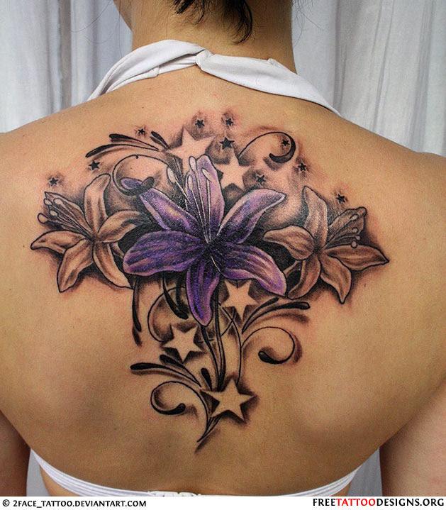 Female Beautiful Flower Tattoo Picture Tattoomagz