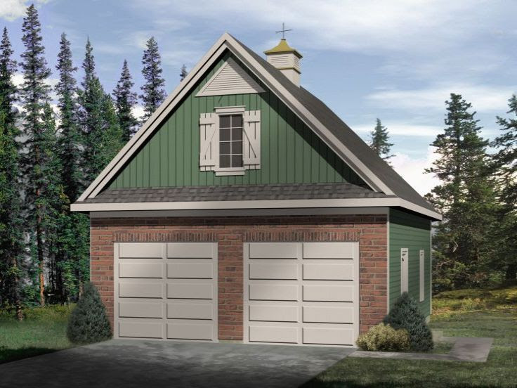 Garage With Large Apartment Plans