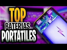 Baterias Portatiles para Celular
