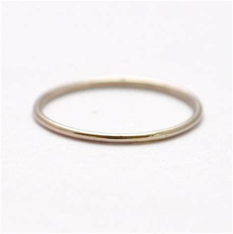 Mila Kunis Platinum Wedding Band: Thin PT950 Ring #2558688