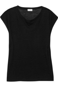 Saint Laurent Fine Knit Merino Wool Top