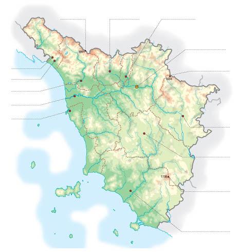 Cartina Muta Delle Marche Da Stampare.Cartina Fisica Toscana Da Stampare Stampae Colorare