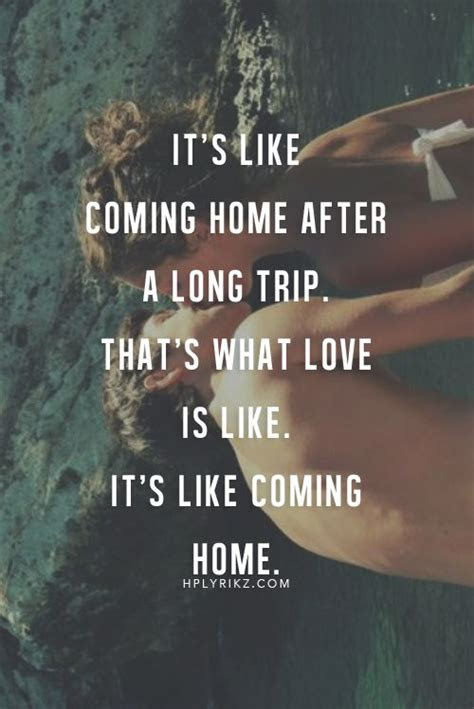 Quotes Returning Home After Travel