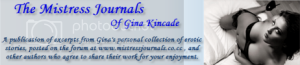 The Mistress Journals Of Gina Kincade Blog