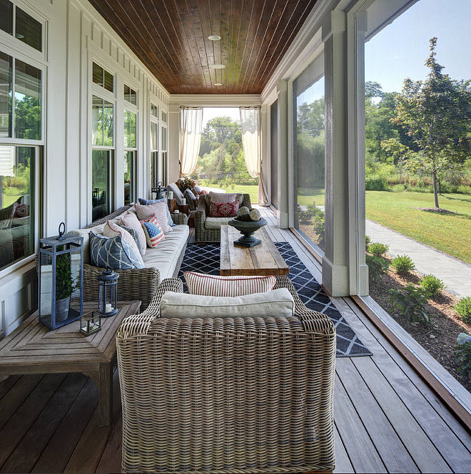 Screened-in porch. Narrow Screened-in porch. Narrow Screened-in porch ideas. #Narrow #Screenedinporch Colby Construction.