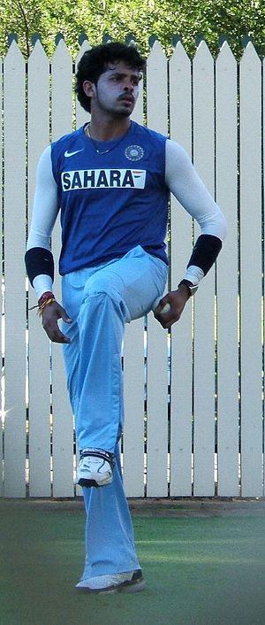 Sreesanth at Adelaide Oval
