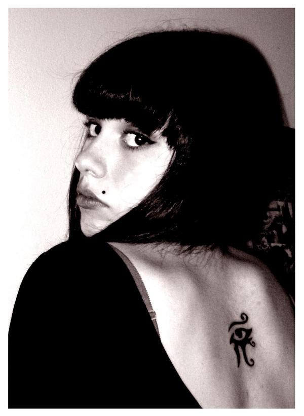 Eye Of Horus Tattoo by ~Kaos-Kittie on deviantART