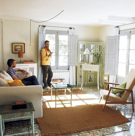 Living room   Spanish townhouse tour   PHOTO GALLERY   House Tour   Livingetc