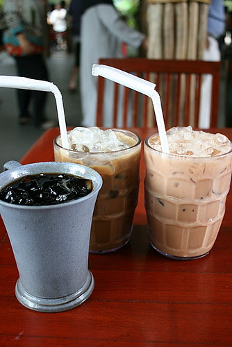 Iced Kopi-O, Coffee Shake and Tea Shake