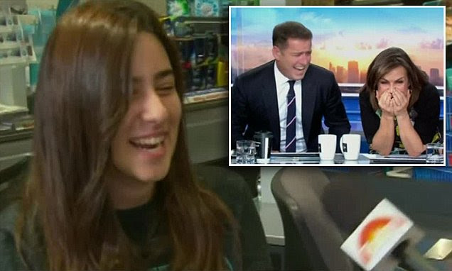 Coles worker wins Aldi shopping trolley challenge leaving Karl Stefanovic and Lisa Wilkinson in hysterics