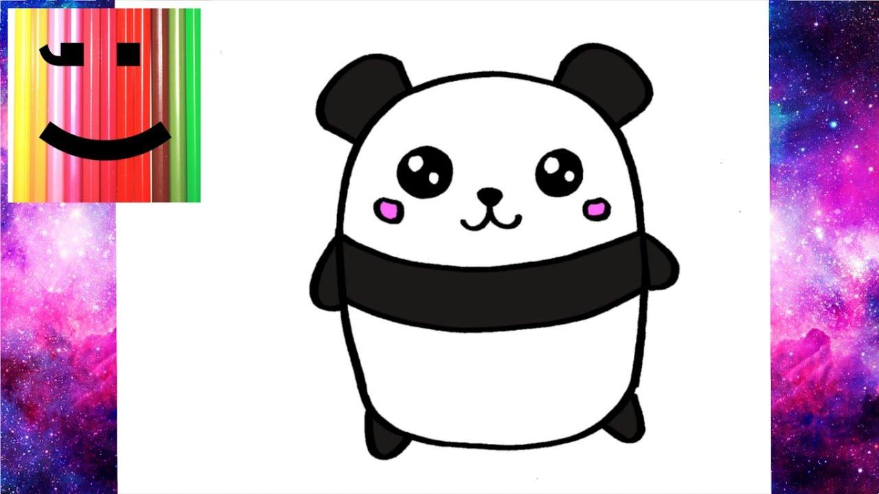 Kawaii Panda Drawing At Getdrawingscom Free For Personal Use