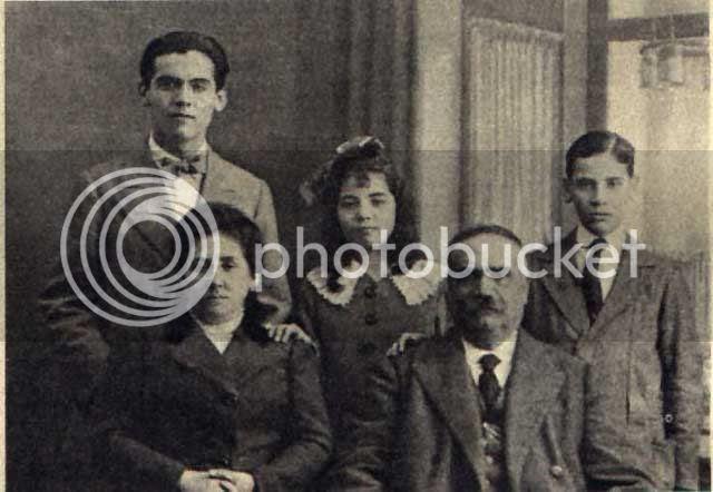 Familia de García Lorca