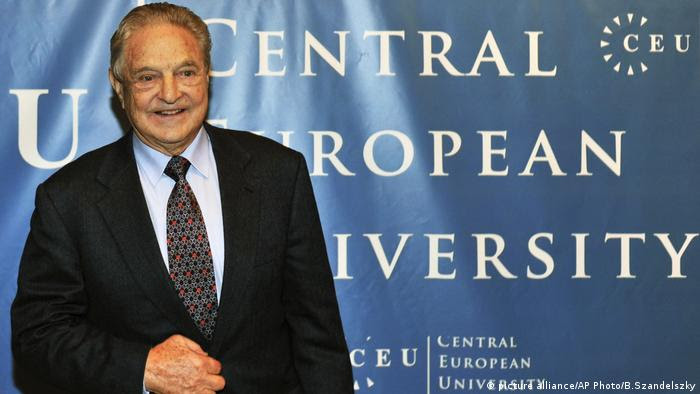 Risultati immagini per Central European University soros orban