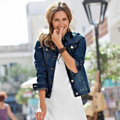 254b65f959df Robes mariage  Veste en jean grande taille femme pas cher