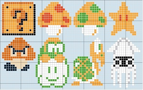 Super Mario Bros Pixel Art Grid Gallery Of Arts And Crafts