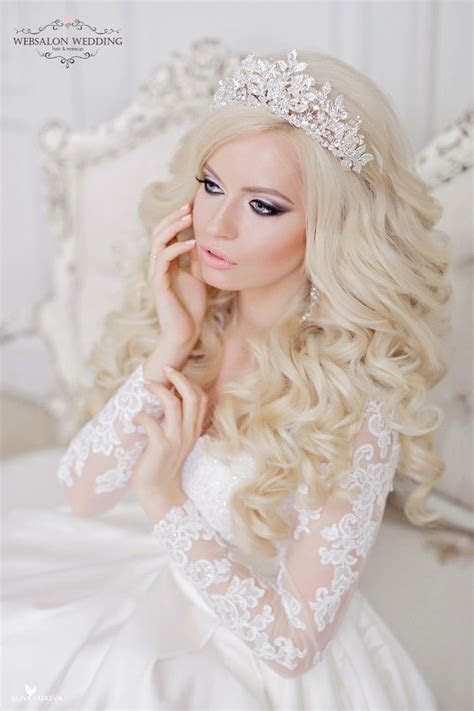 11 beautiful wedding hairstyles down for brides and