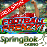 South African Soccer Fans are Winning Free Spins on New Football Frenzy Slot Game by Voting on World Cup Winner