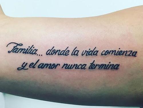Las Mejores Frases Para Tatuajes Hombres Y Mujeres Top 2018