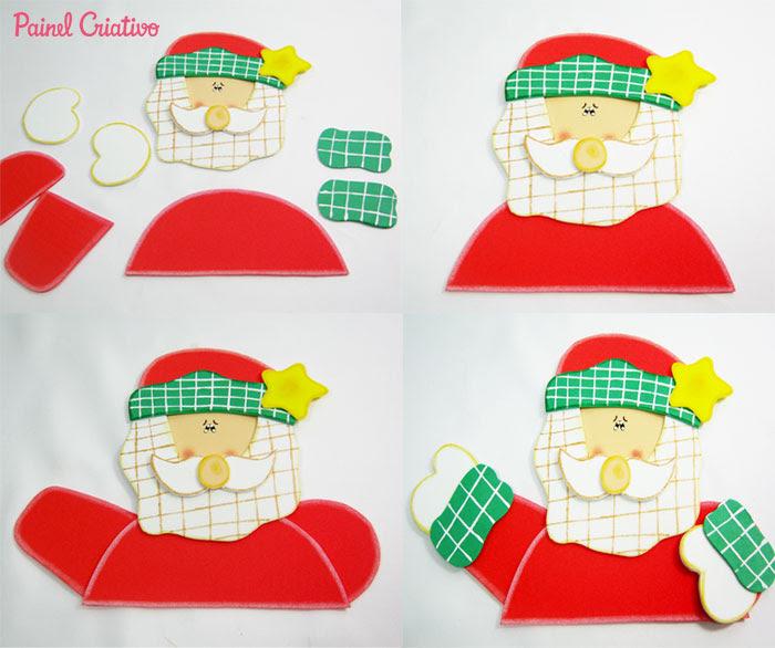 como fazer porta panetone eva presentar lembrancinha natal (1)