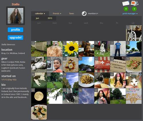 My ShutterCal - June 2013