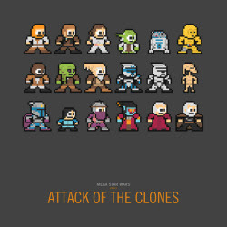 Mega Star Wars: Attack of the Clones