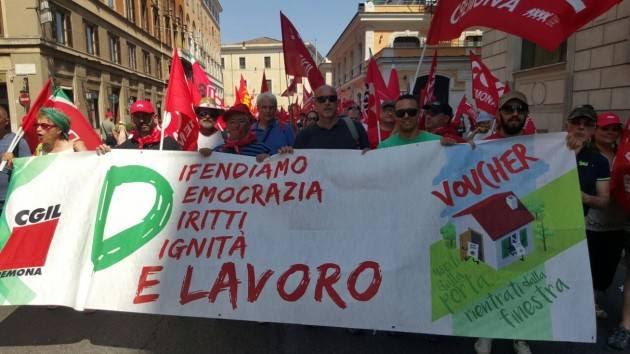 Risultati immagini per Roma manifestazione CGIL del 17 giugno 2017
