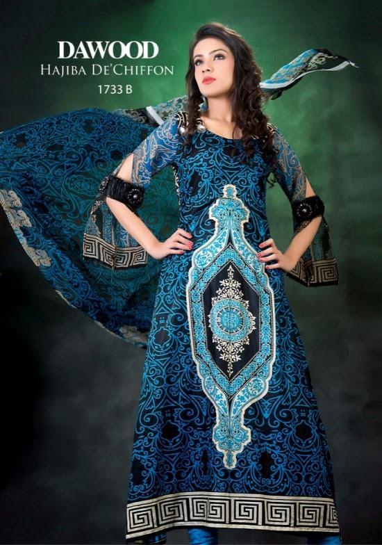 Hajiba-De-Chiffon-by-Dawood-Lawn-Double-Shade-Lawn-Prints-New-Fashion-2013-2014-2
