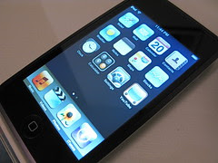iPod touch 1.1.3 (main screen) by chrisdejabet, on Flickr