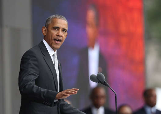 President Barack Obama speaks during the opening ceremony of the Smithsonian National Museum of African American History and Culture on the National Mall in Washington, Saturday, Sept. 24, 2016. (AP Photo/Manuel Balce Ceneta)